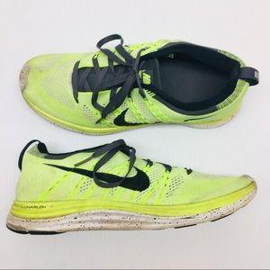 Nike Women's sz 8.5 Flyknit One Volt Running Shoes